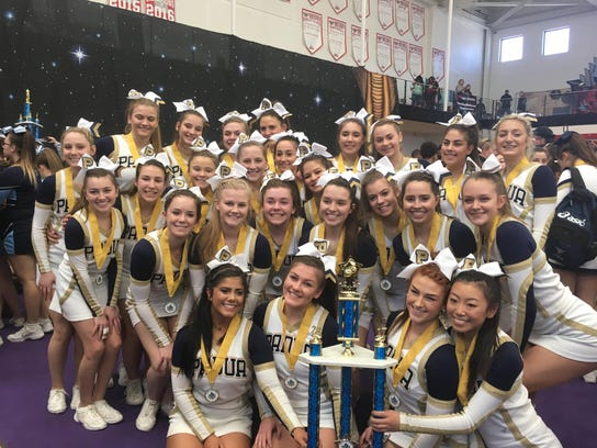 Padua's Competitive Cheerleading Team has won its fourth