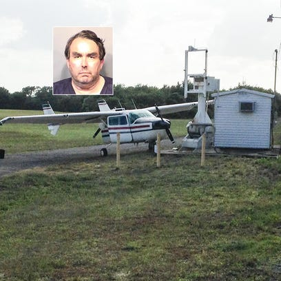 A 57-year-old pilot, Christopher John Hall, who Melbourne
