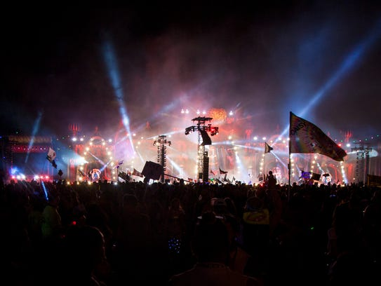 Kygo performs at the annual Electric Daisy Carnival