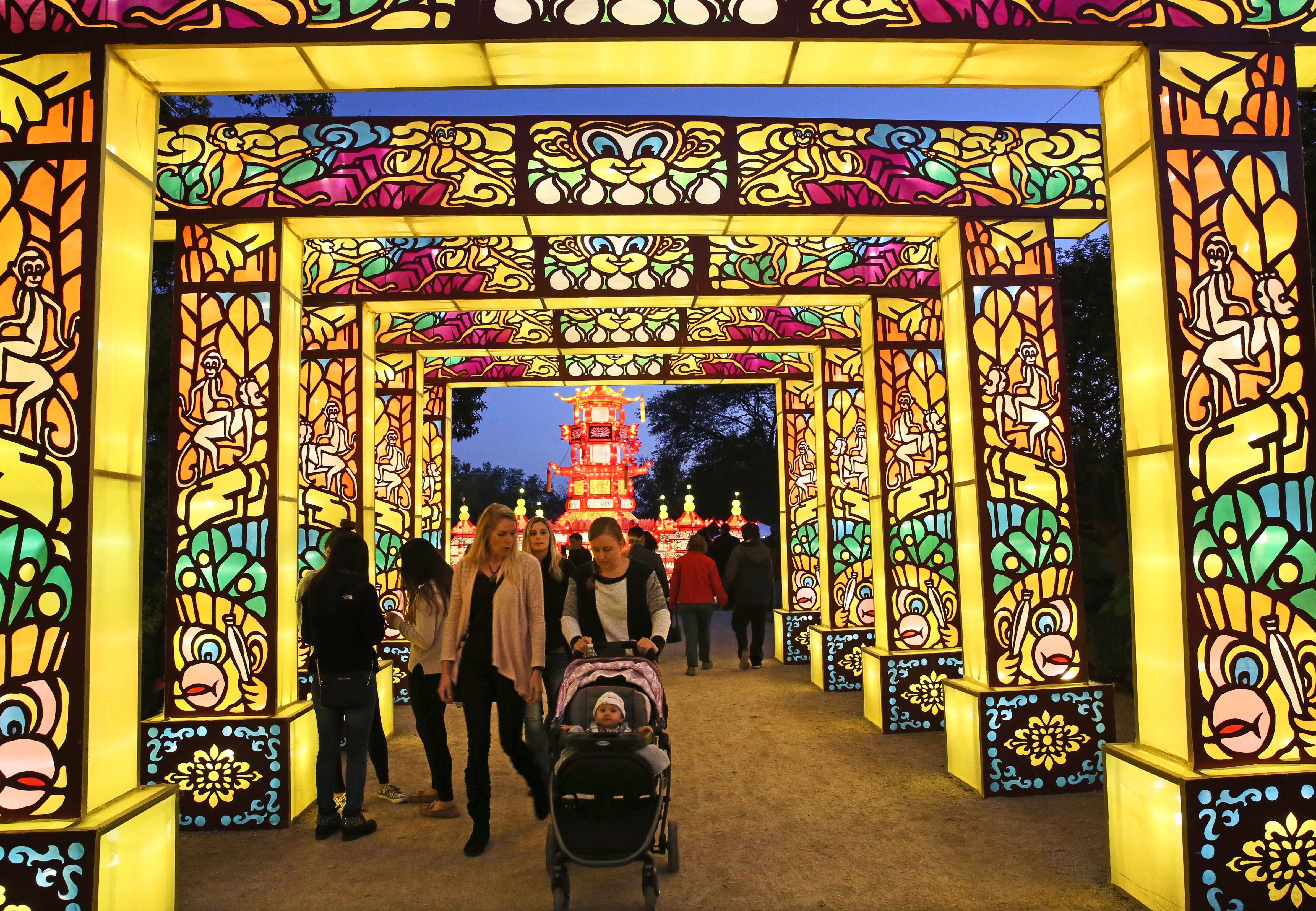 China Lights lantern festival returning to Milwaukee Countys