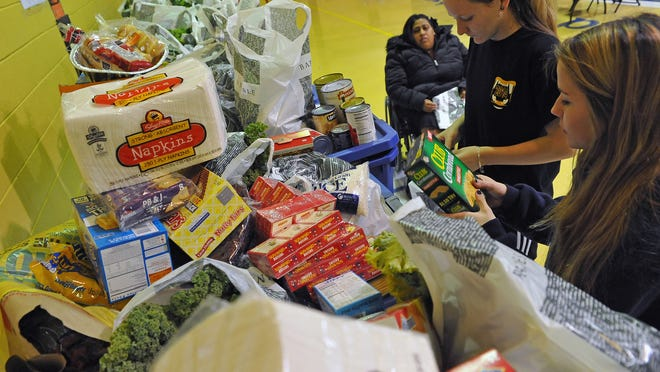 A food drive to gather meals for families for the holidays will be held Dec. 5.