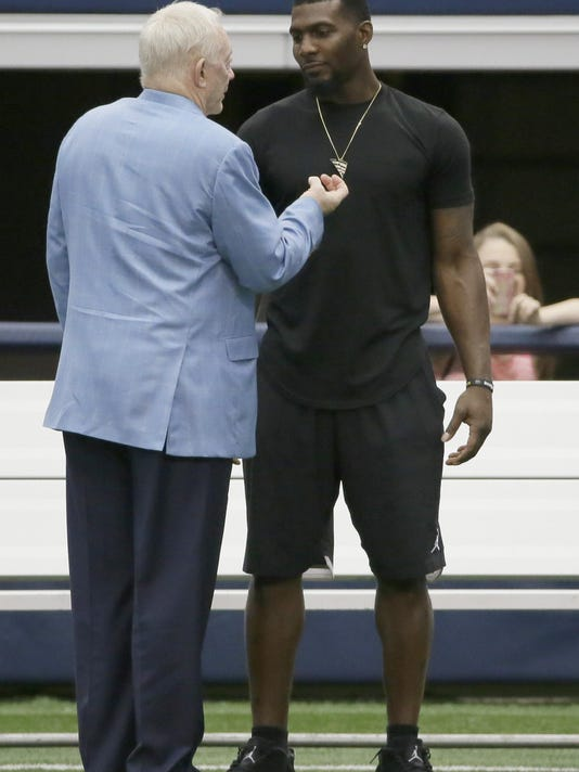 Dez Bryant Joins Cowboys For Last Day Of Minicamp