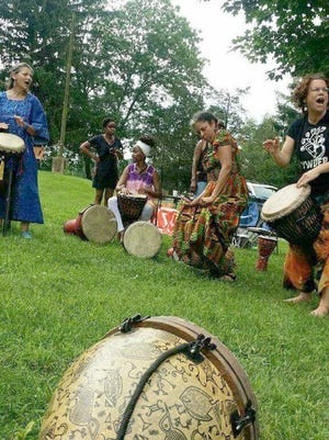 A variety of  performances, such as African drumming (shown here), will be showcased at the International and Culture Festival EXPO on June 18.