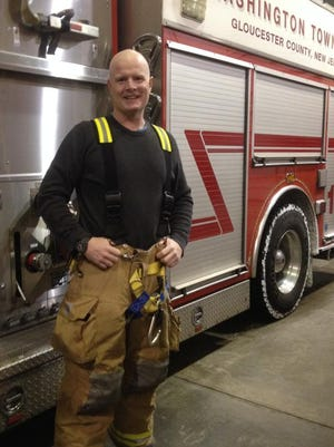 Frank Fisher, an operating room anesthetist, Army nurse and Washington Township fireman, was named Firefighter of the Year by American Legion Post 521.