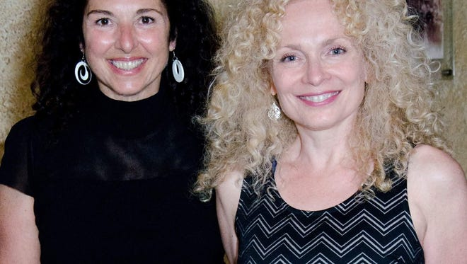 Singer-drummer Annie Masciandaro (left) performs the songs associated Karen Carpenter, and singer-pianist Deb DeLuca will cover the music of Carole King tomorrow at Investors Savings Bank Theater at RoxPAC in Ledgewood.  The joint tribute is sponsored by Roxbury Arts Alliance.