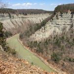 Gallery: Cabin tour, scenic views at Letchworth State Park