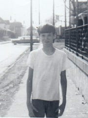John Christopher Jones, age 11, at about the time of his father's suicide.
