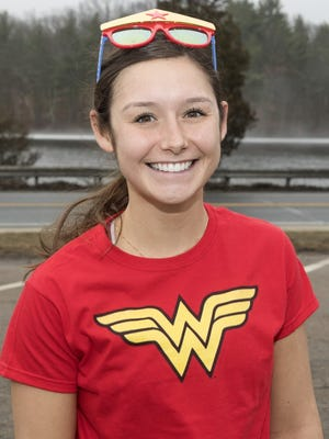 Maddie Perlewitz will run her first Boston Marathon for the charity 261 Fearless, a nonprofit that promotes women and running.