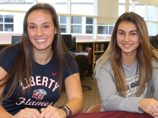 Seaholm soccer standouts Zoe Gaffney (left) and Olivia