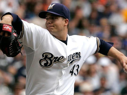 Milwaukee Brewers's Manny Parra gets the start against