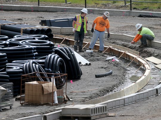 Olympic Peninsula Construction has begun work on the new turf field at Klahowya Secondary School.