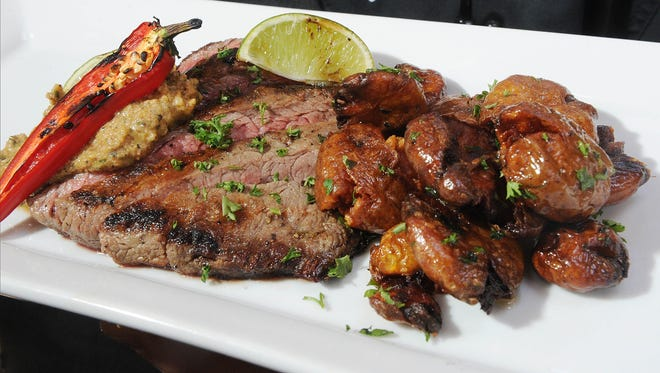 Bistro steak is among the menu options at Coastal Grill at Embassy Suites Mandalay Beach in Oxnard.