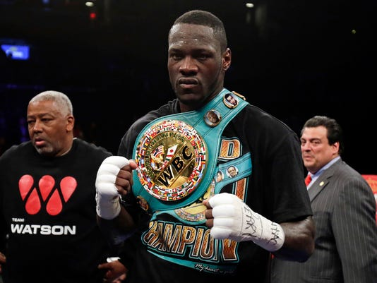 Boxing: Wilder vs Szpilka