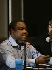 Yacobre Bogre, originally of Burkina Faso, speaks about