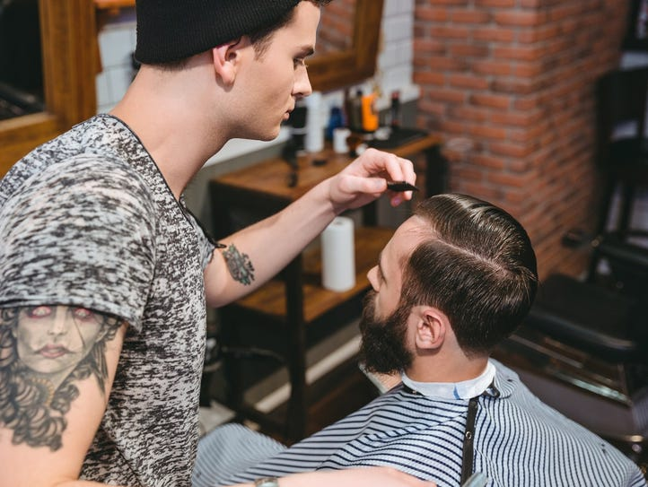 Tennessee requires barbers to hold occupational licenses
