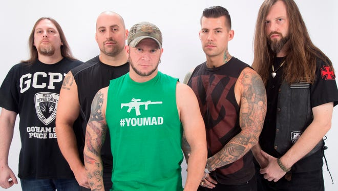 All That Remains will headline the Rock the Fort which will take place from 4 to 11 p.m. Saturday at Biggs Park, 11388 Sergeant Major, Fort Bliss.