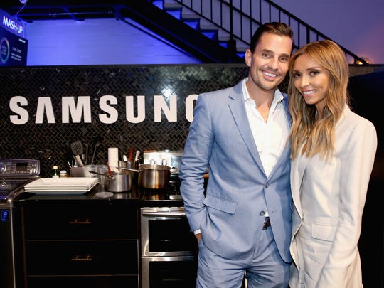 Bill Rancic and Giuliana Rancic attend the Cooking For Two Home Appliance Event at Samsung Studio L.A. on June 17, 2015, in Los Angeles, California.