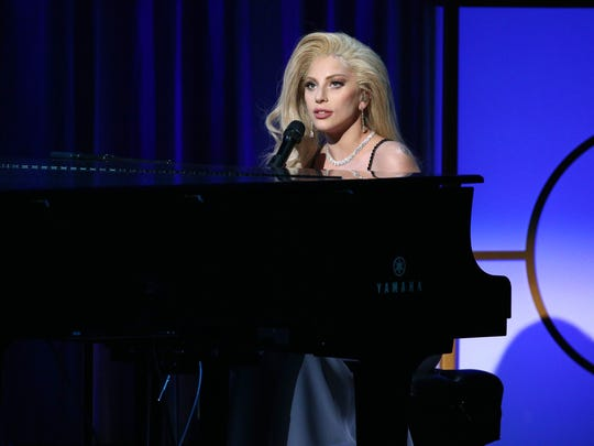 Lady Gaga at the Producers Guild Awards.