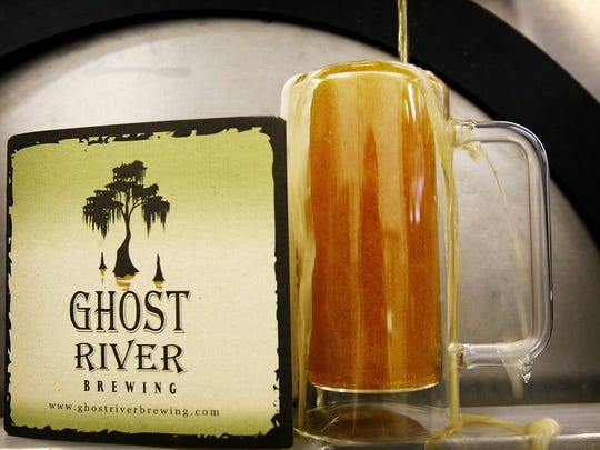 "Ghost River Brewing will co-sponsor a ""Boo 'n Brew"" event at Oak Court Mall on Oct. 26."