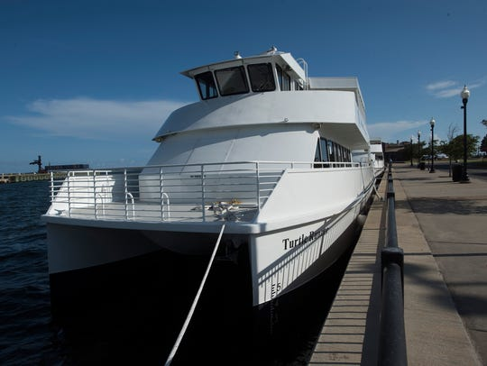 The National Park Service ferries are now in the water