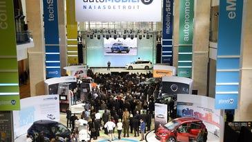 Technology expo open to public at '18 Detroit auto show