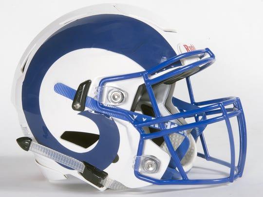 Kennard-Dale football helmet.