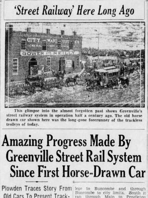 An article in The Greenville News on Oct. 21, 1934.