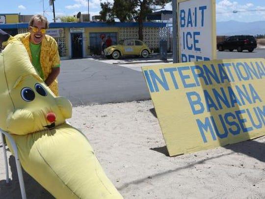 Banana museum.
