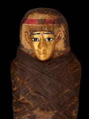 """Pictured The Gilded Lady, part of the American Museum of Natural History's newest exhibit """"Mummies."""" On view through Jan. 7."""