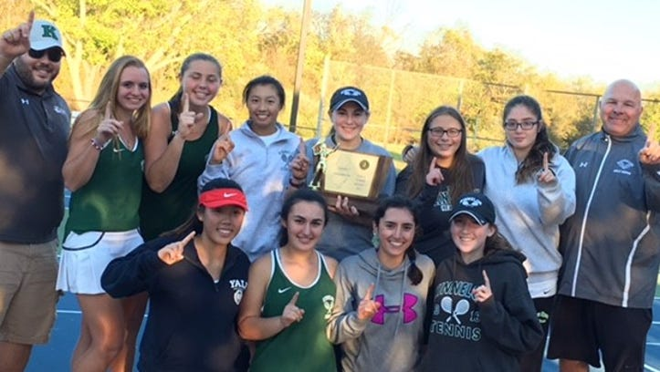 Girls tennis: Kinnelon aces final state test, wins Group 1 championship