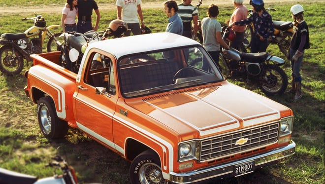 This Chevrolet 1974 C/10 Stepside has classic looks but is rugged, and it's easy to find parts.