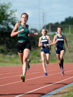 Reynolds' Anna Vess is the All-WNC Girls Track Athlete of the Year.