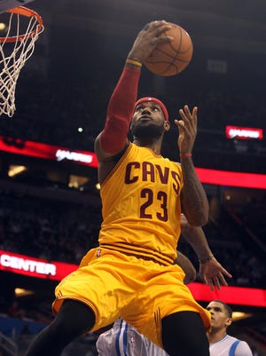 LeBron James scored a game-high 29 points for the Cavaliers.
