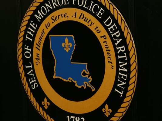 The first Monroe Police Department Seal