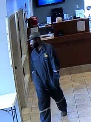 Police are looking for this man in connection with the attempted robbery of Carter Federal Credit Union in the 6800 block of West Bert Kouns Industrial Loop.