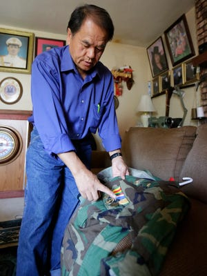 Vietnam War-era veteran Tong Blia Xiong of Weston earned medallions for his service, but little else.
