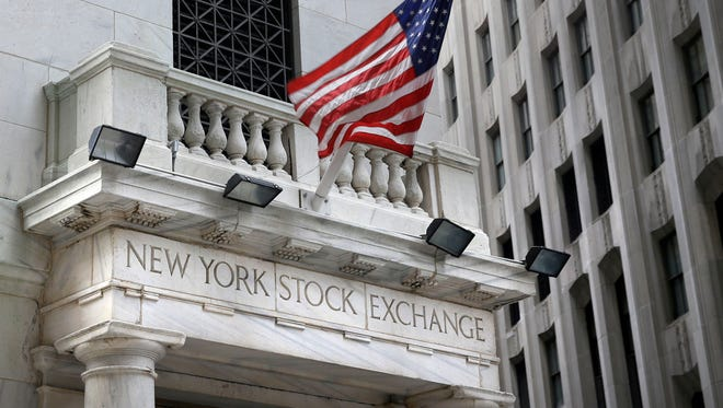 This Monday, Aug. 24, 2015, file photo, shows the New York Stock Exchange.