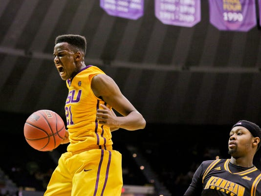 NCAA Basketball: Kennesaw State at Louisiana State