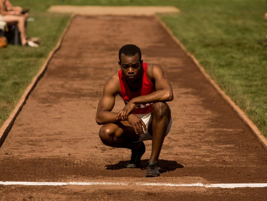 Stephan James as Jesse Owens in 'Race.'