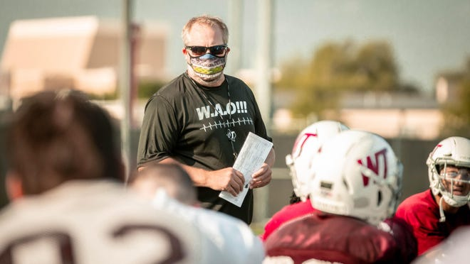 West Texas A&M football coach Hunter Hughes said he will hold a Fantasy Draft to split teams for the Buffs annual spring football game.