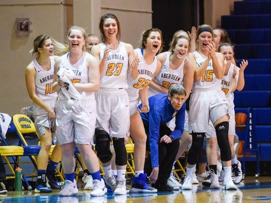 Harrisburg, Aberdeen Central, girls basketball