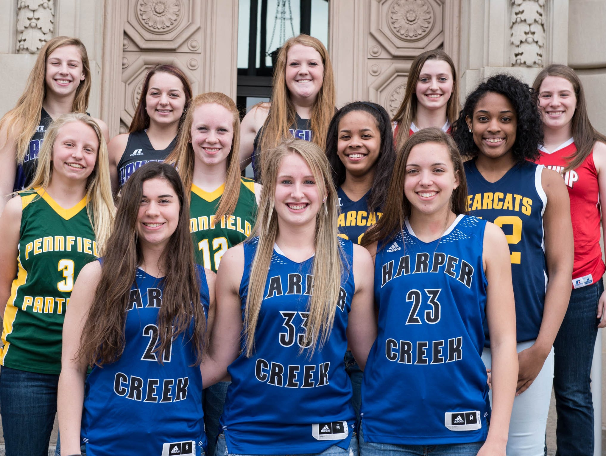 The 2015-16 Battle Creek Enquirer All-City Girls Basketball Team is selected by city coaches and the Enquirer sports staff