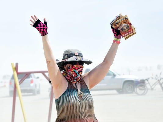 Dust Greets Burners