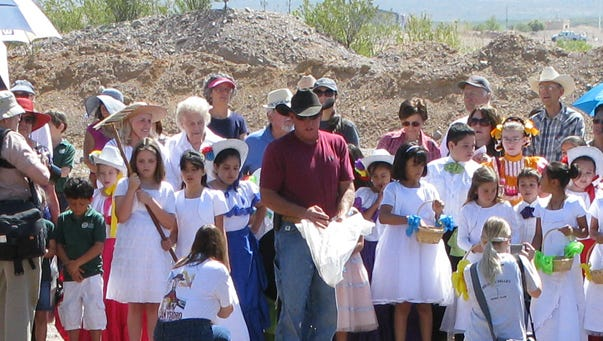 Beginning at 10 a.m., on Monday, may 15, Most Reverend Oscar Cantú, Bishop of the Roman Catholic Diocese of Las Cruces, will lead a colorful procession around the Museum grounds, to bless the animals, plants, acequia and fresh-baked bread. Afterward, there will be storytelling by Bishop Emeritus Ricardo Ramirez.