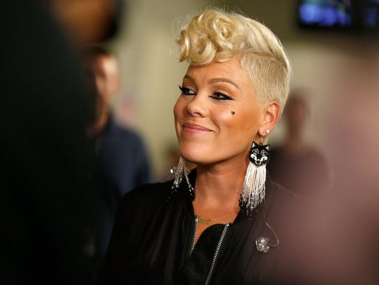 Pink will perform March 17 at Bankers Life Fieldhouse.
