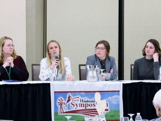 From left: Helen Dietrich (Conklin MI), Katie Vargas,
