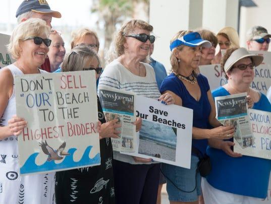 Save Pensacola Beach Rally 6
