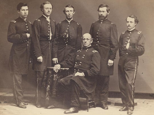 )fficers of the 72nd Ohio Volunteer Infantry, including