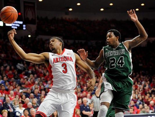 NCAA Basketball: Utah Valley at Arizona