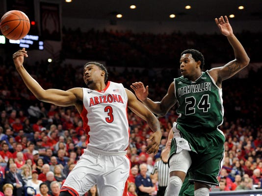 NCAA Basketball: Utah Valley at Arizona